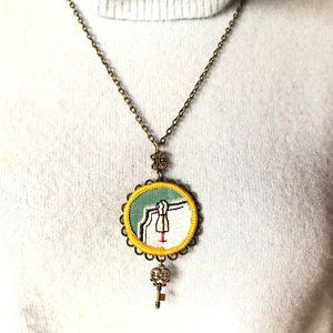 Girl Scout Badge Necklace - NWT